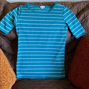 Brand new lularoe stripe blouse